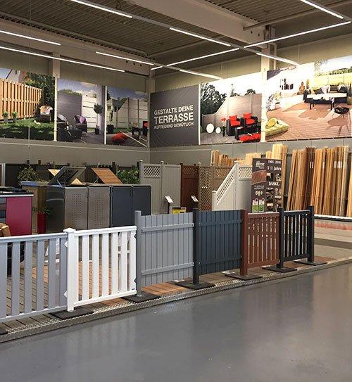 Ausstellung in Unna Garten und Sichtschutz HolzLand Beese Unna Dortmund