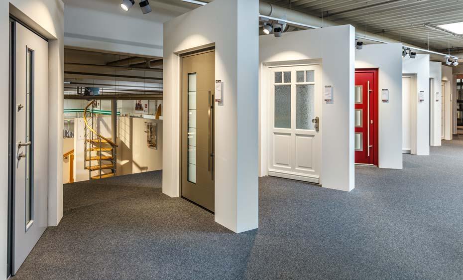 Haustüren Ausstellung HolzLand Beese Unna