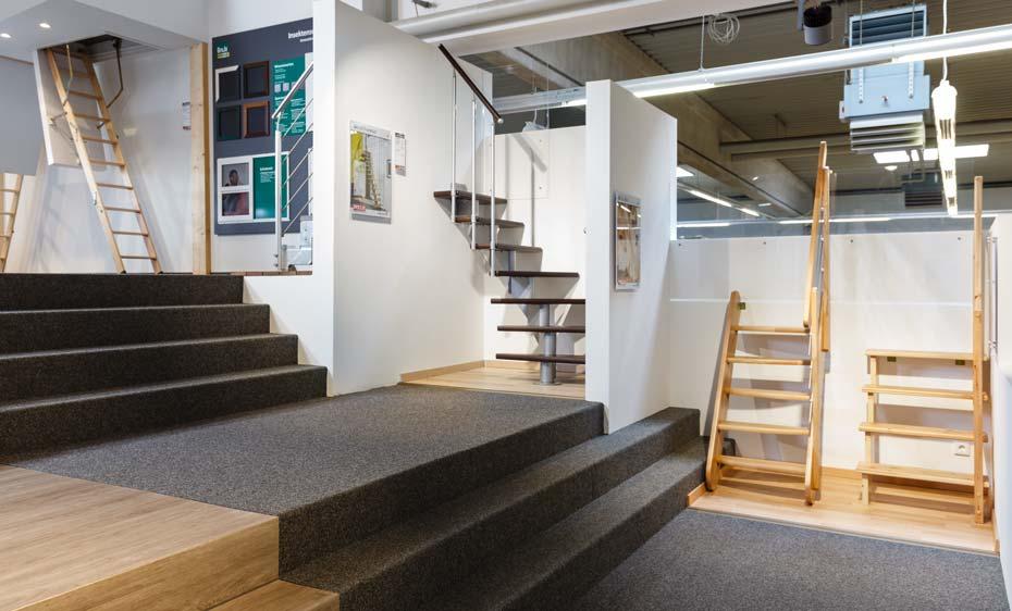 Ausstellung Treppen HolzLand Beese Unna Dortmund