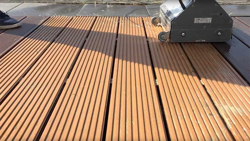 beese terrassenpflege klein blog - So reinigst Du WPC-Terrassendielen mit dem Terrassenboy