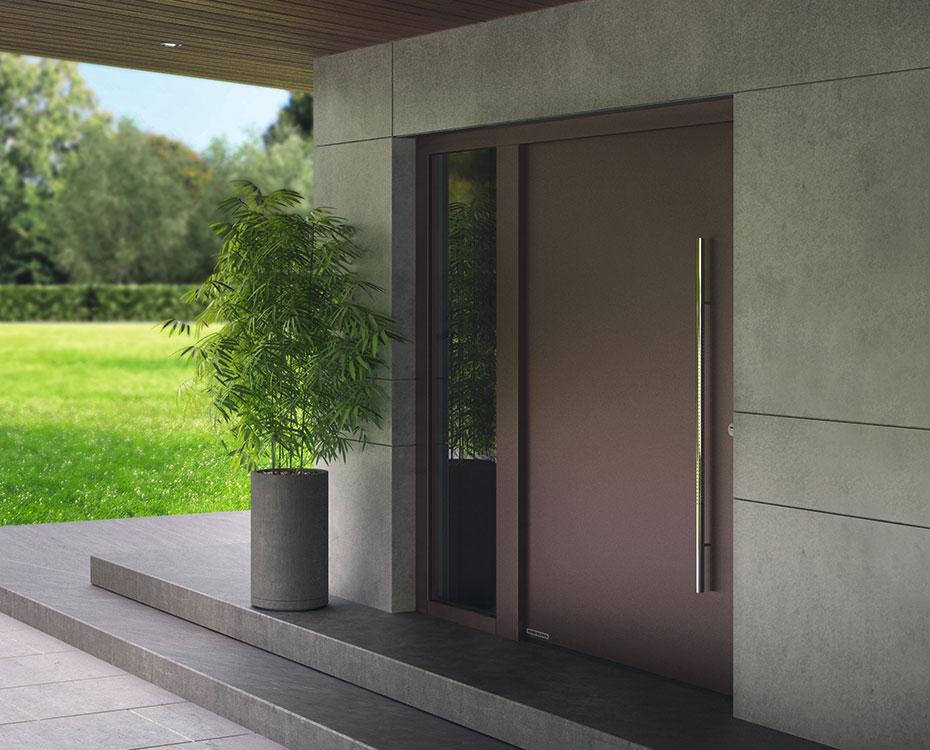 Haustüren Aluminium Hoermann Villa X HolzLand Beese Unna Dortmund