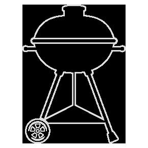 icon garten grills grau holzland beese - Grills