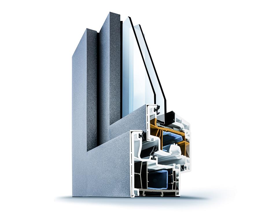 Aluminiumfenster Aufbau Wirus elegant HolzLand Beese Unna Dortmund