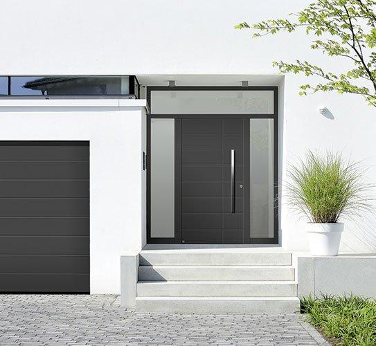 aluminiumhaustueren hoermann CSF7889 holzland beese - Aluminiumhaustüren