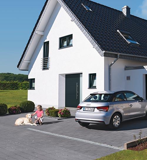 aluminiumhaustueren hoermann K DSN9747 X holzland beese - Aluminiumhaustüren