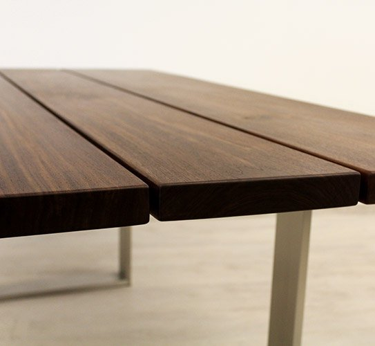 beesondere tische platte dunkel holzland beese - BEESondere Tische