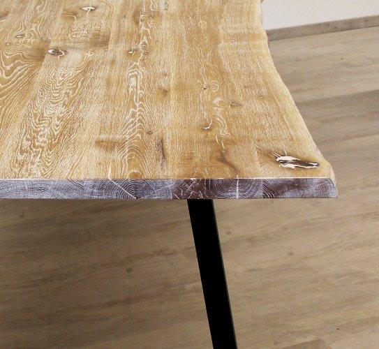 beesondere tische platte hell detail holzland beese - BEESondere Tische