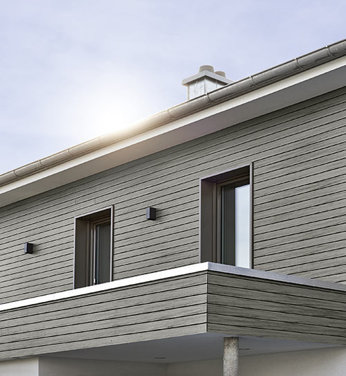 fassade dunkel naturinform graphitgrau holzland beese - Fassade