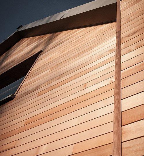 fassade hell bruns wrc tiga holzland beese - Fassade