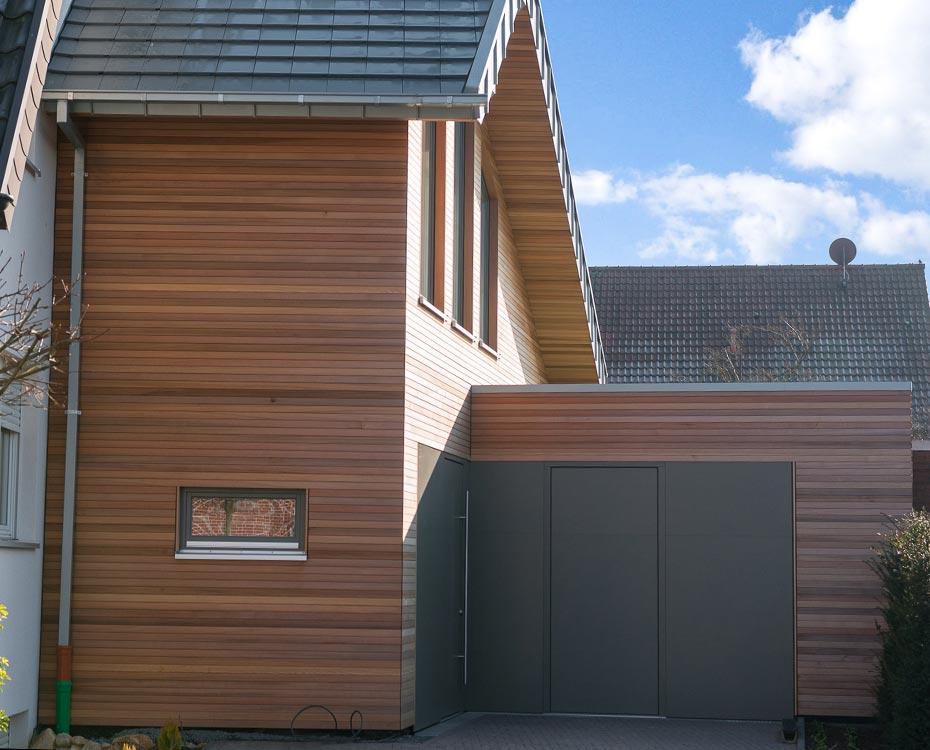 fassade holzfassade bruns wrc holzland beese - Fassade