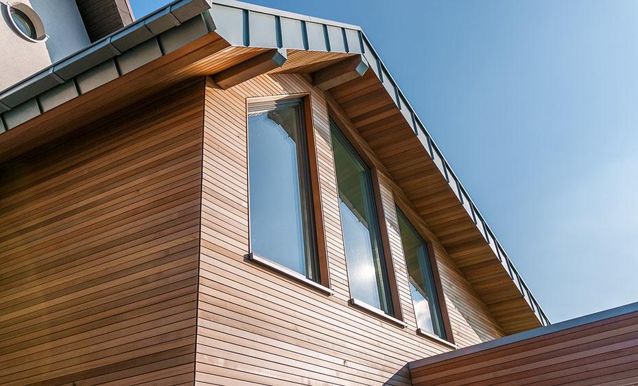 fassade warm bruns wrc holzland beese - Fassade