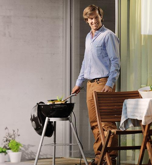 grill praktische grills outdoorchef elektrogrill city elektro holzland beese - Grills