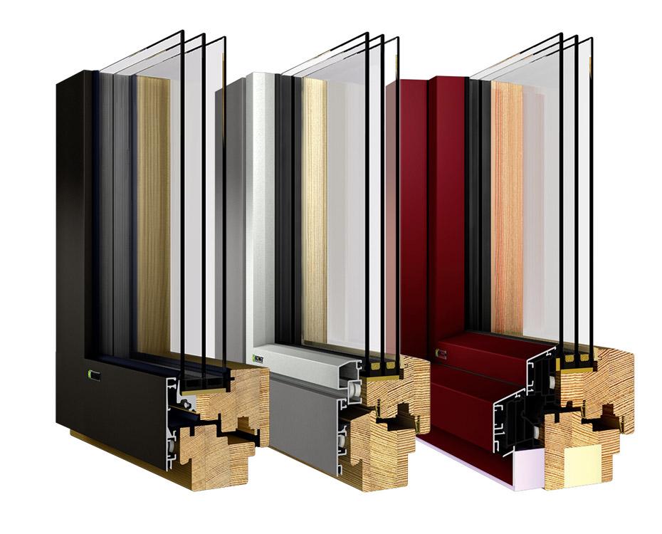 holz alu fenster designs kowa holzland beese - Holz-Aluminiumfenster