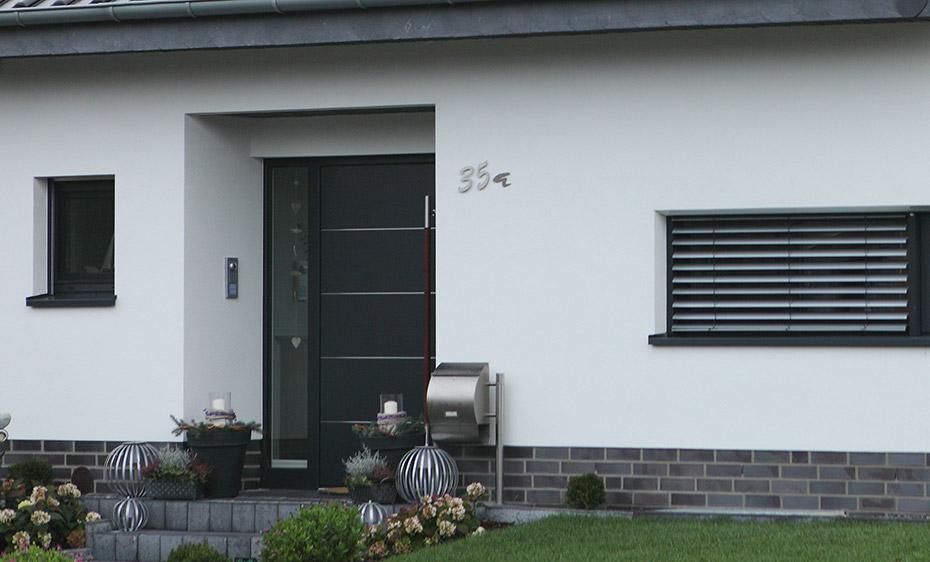 Kunsstoffhaustüren Wirus 90 HolzLand Beese Unna Dortmund