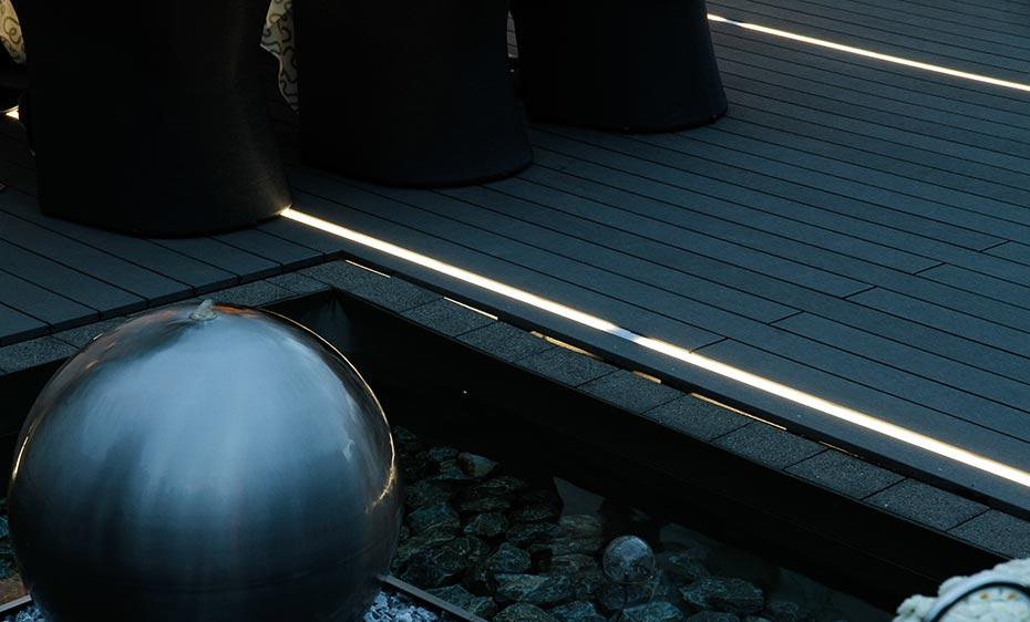 licht im garten bruegmann anthrazit holzland beese - Licht im Garten