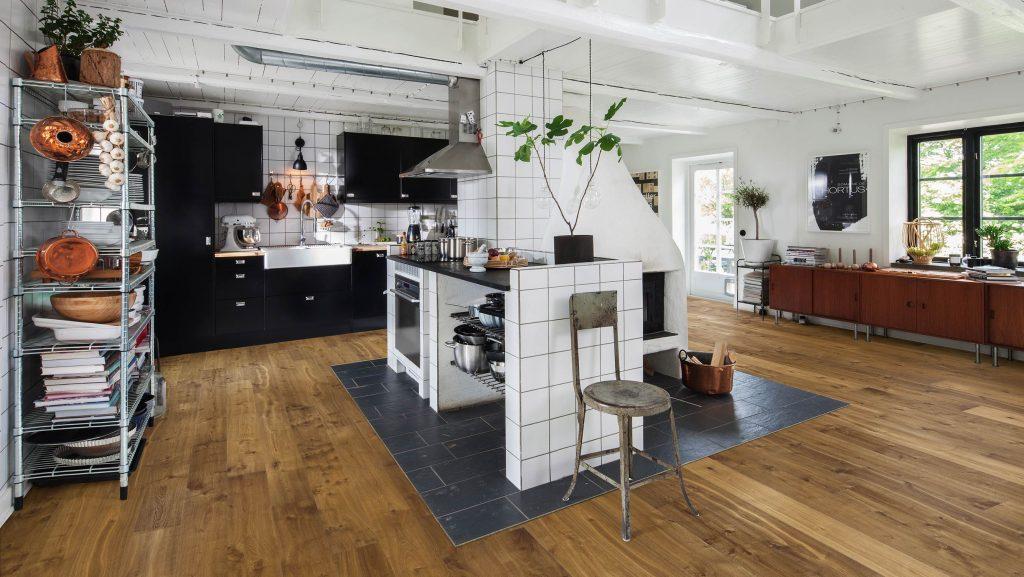 Parkett in der Küche HolzLand Beese Unna