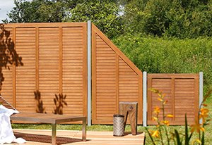Sichtschutzzäune aus Holz HolzLand Beese.