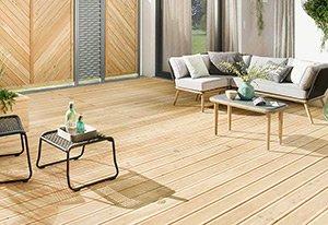 Terrassendielen aus Holz HolzLand Beese.