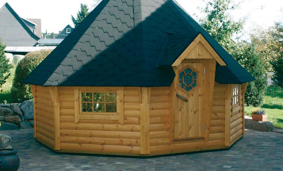 saunahaus holz saunakota wolff finnhaus holzland beese - Saunahäuser