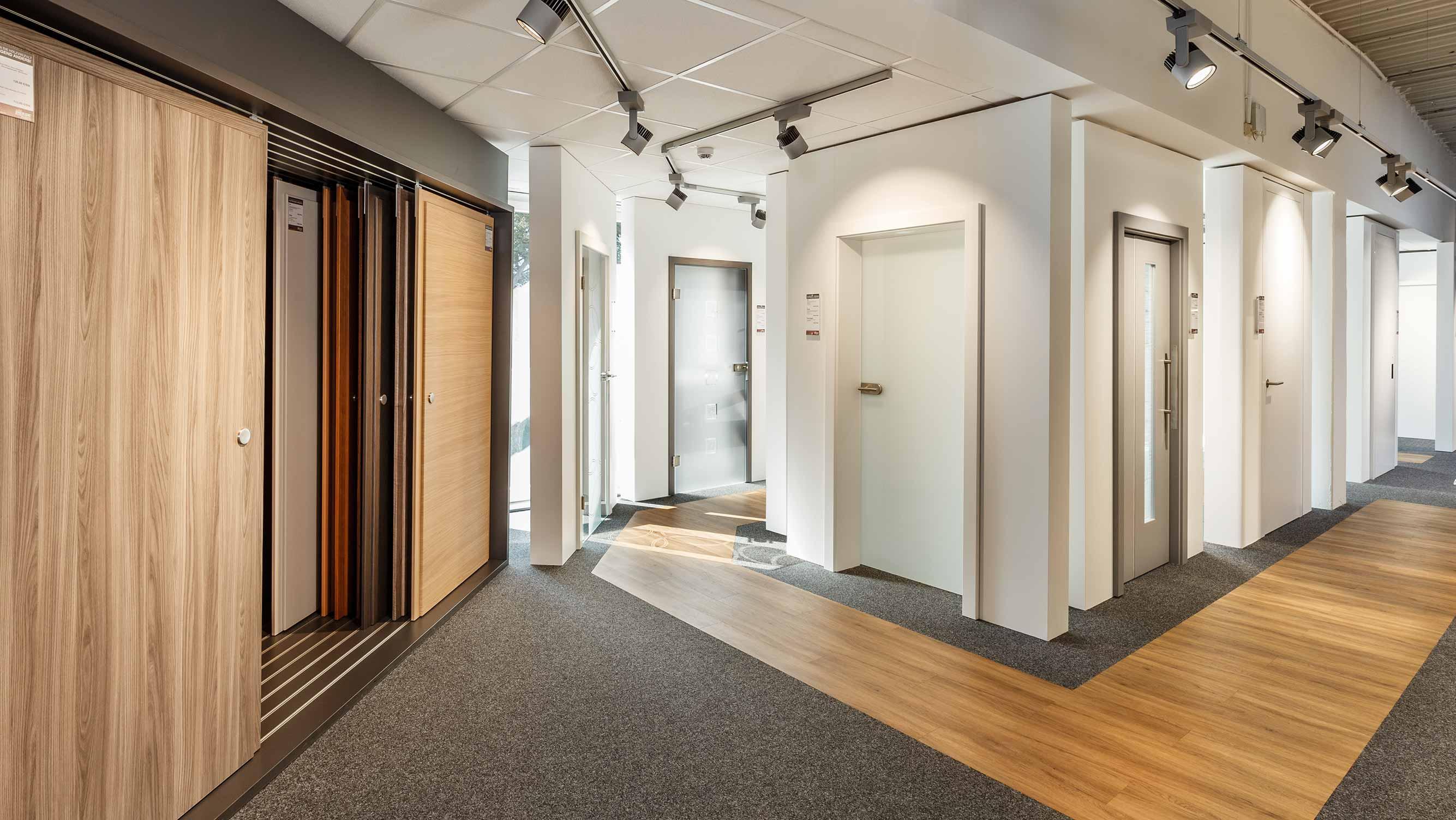 Service Ausstellung Bauelement Innentüren HolzLand Beese Unna Dortmund