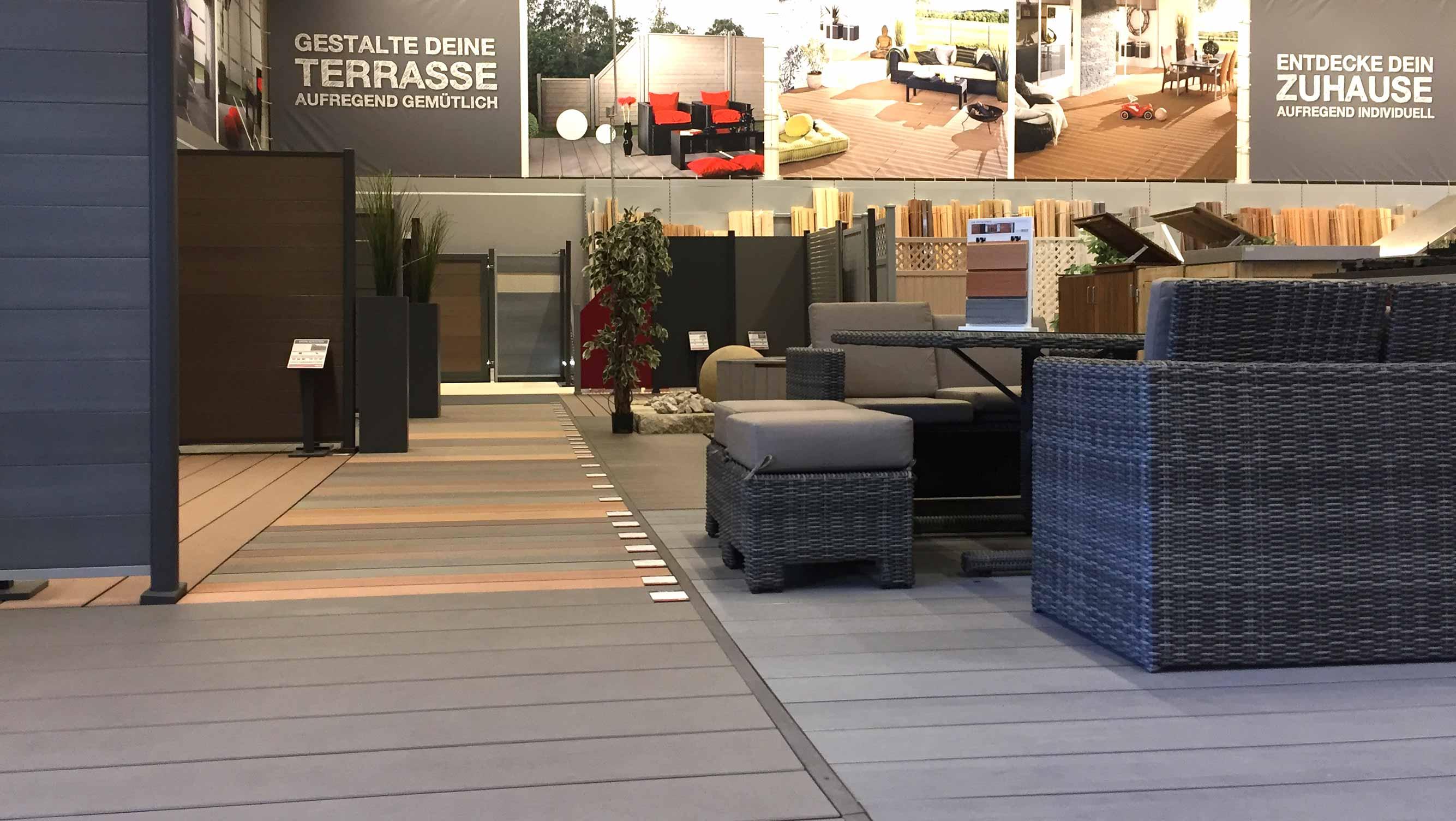 Service Ausstellung Garten von HolzLand Beese Unna Dortmund