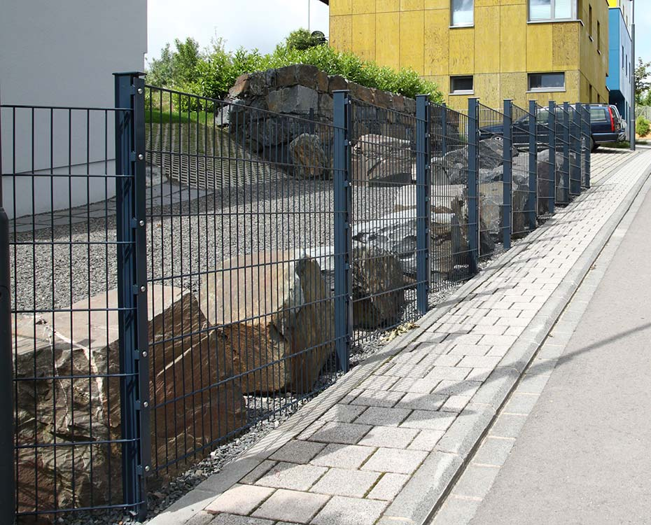 Sichtschutzzaun Doppelstabmatten HolzLand Beese Unna Dortmund