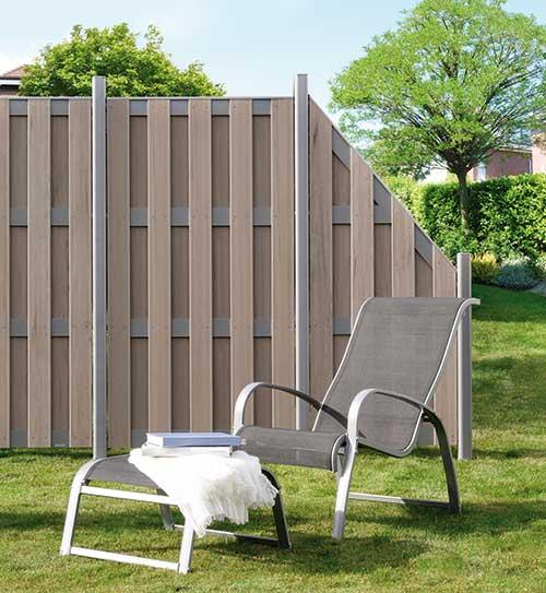 02455620180212 sichtschutzzaun wpc weiss inspiration. Black Bedroom Furniture Sets. Home Design Ideas