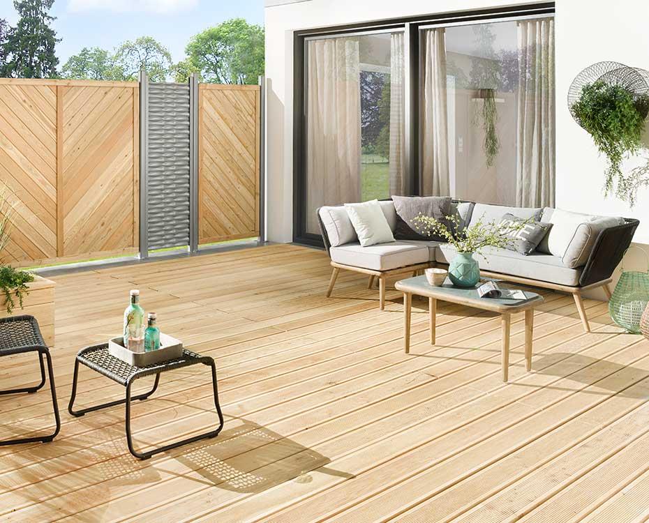 Terrassendiele Holz HolzLand Beese Unna Dortmund