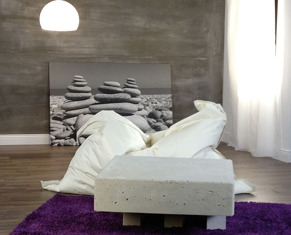 Wand und Decke Rollbeton Stoneslikestones HolzLand Beese Unna Dortmund