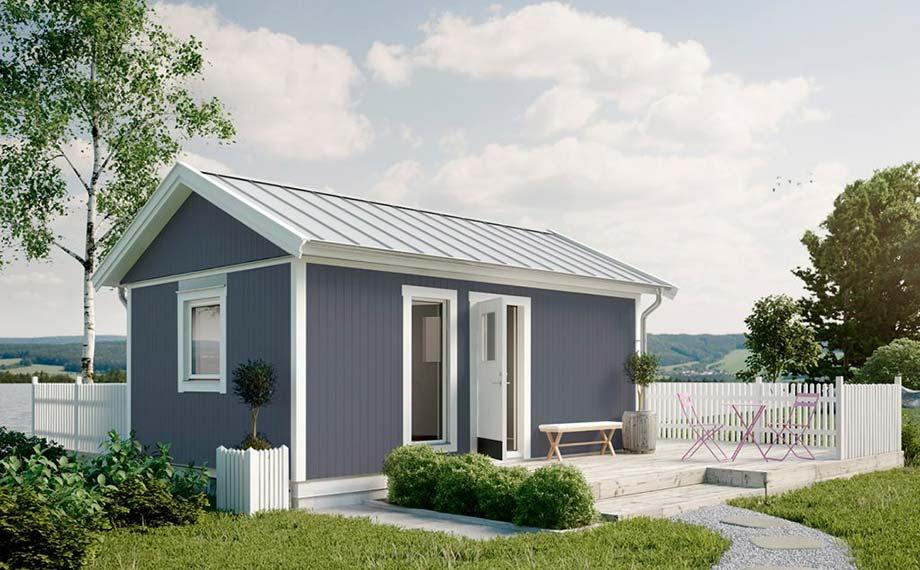 Schwedenhaus blau  Schwedenhaus – der Gartenhaus-Geheimtipp | HolzLand Beese | Unna