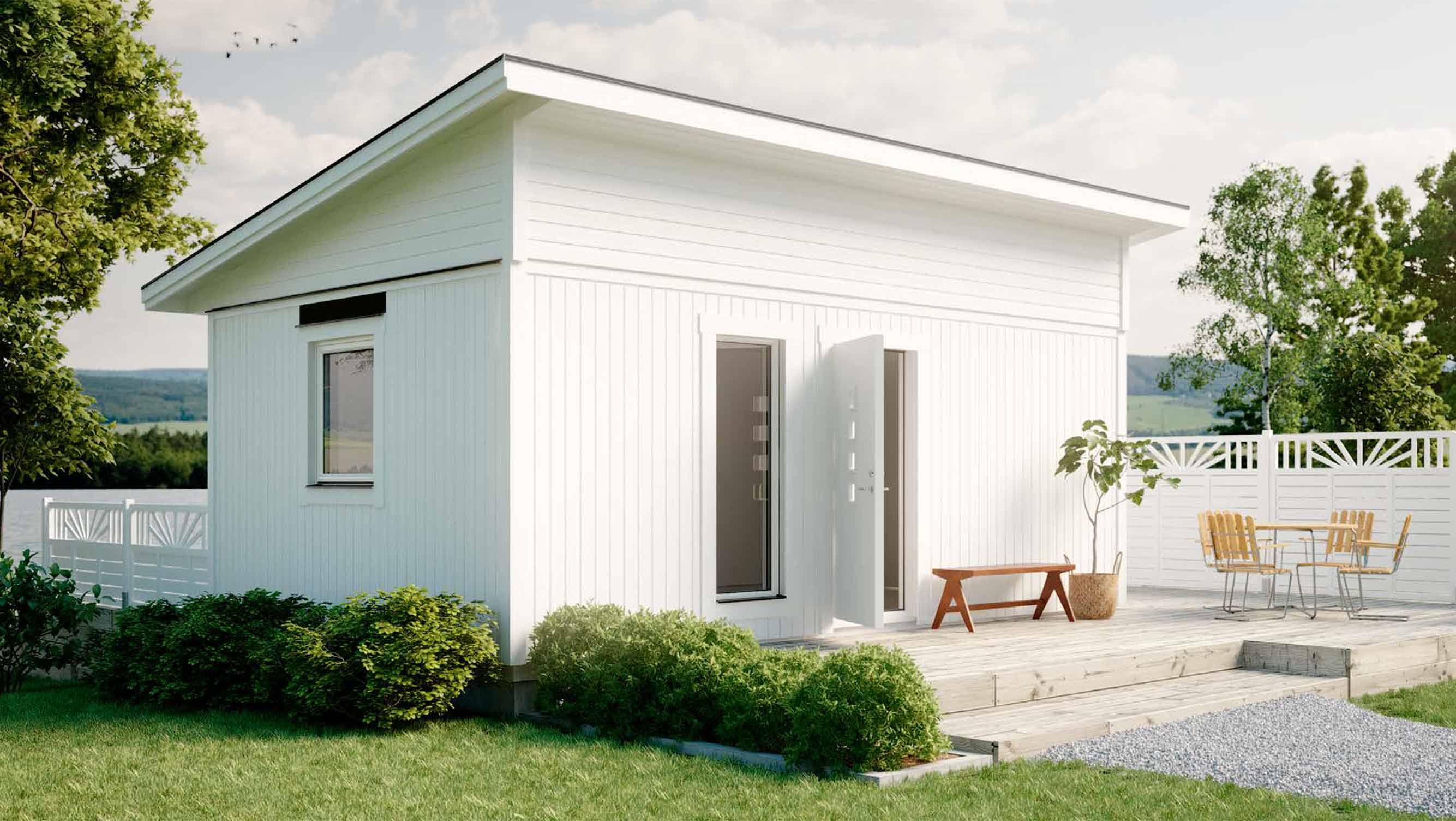 Schwedenhaus bei HolzLand Beese in Unna