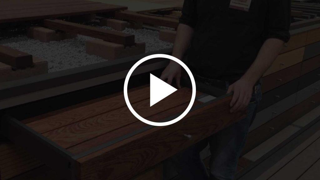 Walaba Terrasse Holz Surinam