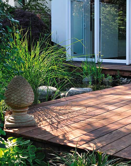 Walaba unbehandelt Terrasse Holz