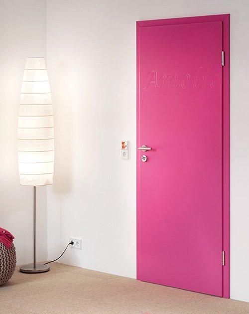 zimmertueren lack pink gefraest name lebo holzland beese - Welche Zimmertüren gibt es bei Beese
