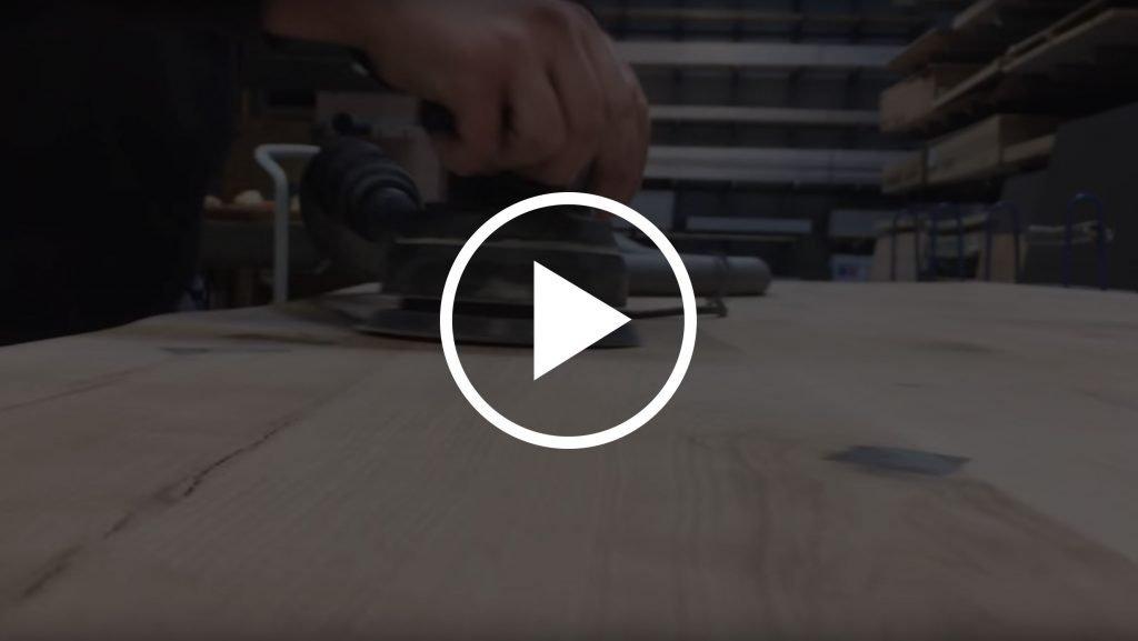Video beesondere Tische Baumkantentisch HolzLand Beese Unna Dortmund