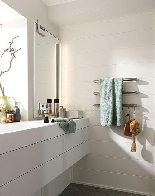 wand und decken paneele weiss badezimmer terra holzland beese - Modern und weiß: Deine neuen Wand- und Deckenpaneele