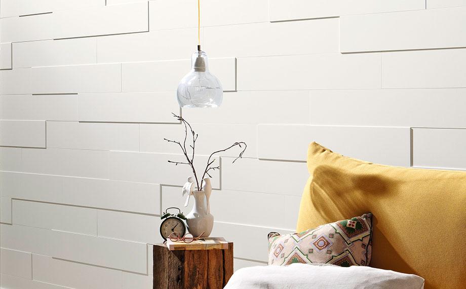 wand und decken paneele weiss schlafzimmer systempaneele holzland beese - Modern und weiß: Deine neuen Wand- und Deckenpaneele