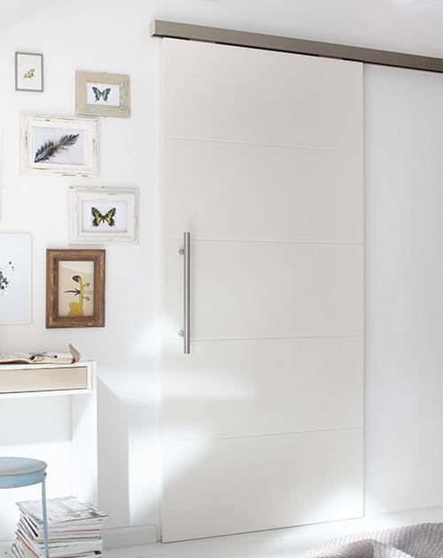 weisslacktuer schiebetuer lackiert holzland beese unna - Warum Weißlacktüren großartige Stilikonen sind