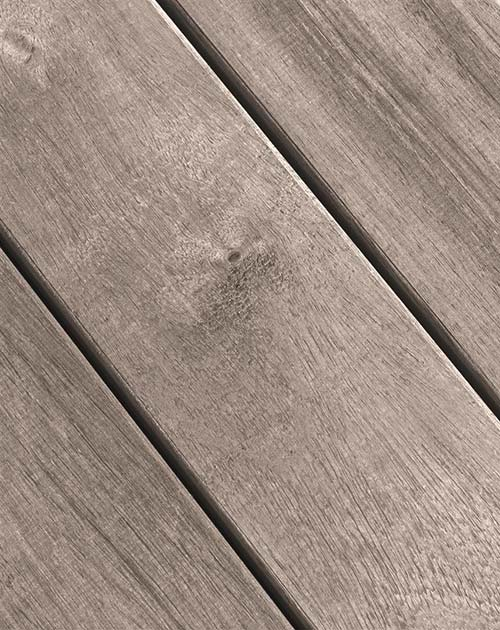 Vergraute Terrassendielen aus Guyana Teak, Holz, bei Holzland Beese in Unna (Region Dortmund)
