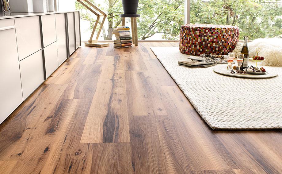 vinylboden mit trittschalld mmung holzland beese unna. Black Bedroom Furniture Sets. Home Design Ideas
