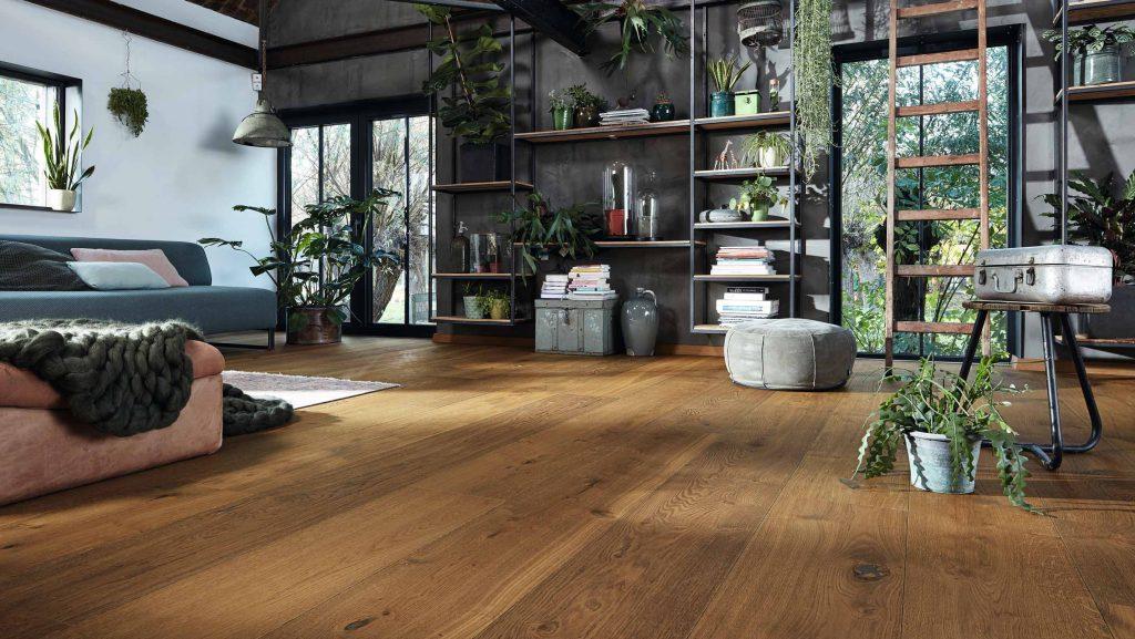 Lindura-Holzboden dunkel von HolzLand Beese in Unna