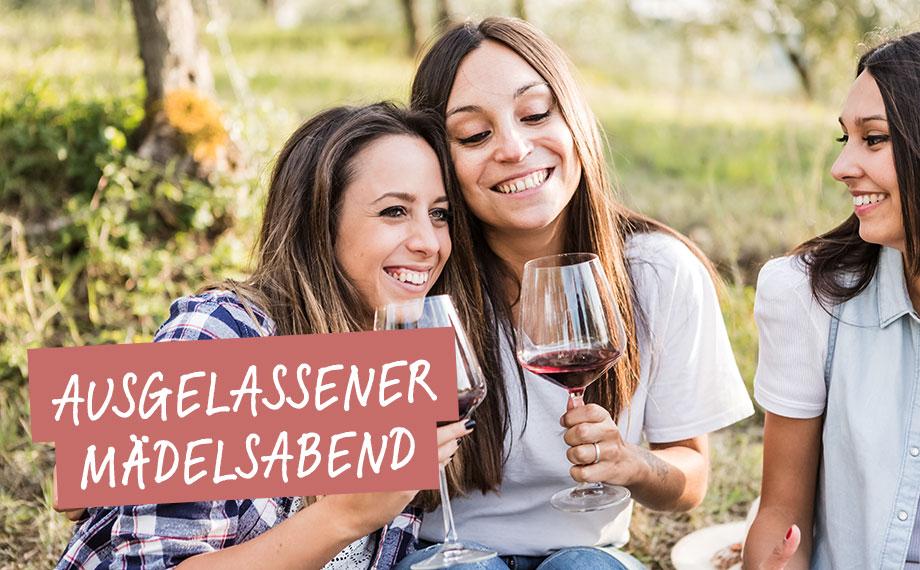 """Weinmoment """"Ausgelassener Mädelsabend"""" – BEESondere Weine von HolzLand Beese"""