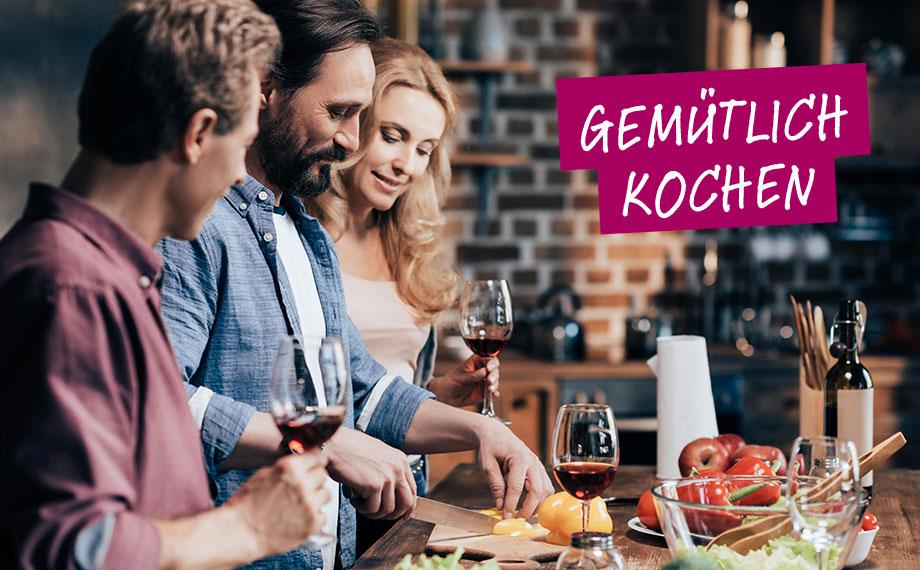 """Weinmoment """"Gemütlich kochen"""" – BEESondere Weine von HolzLand Beese"""