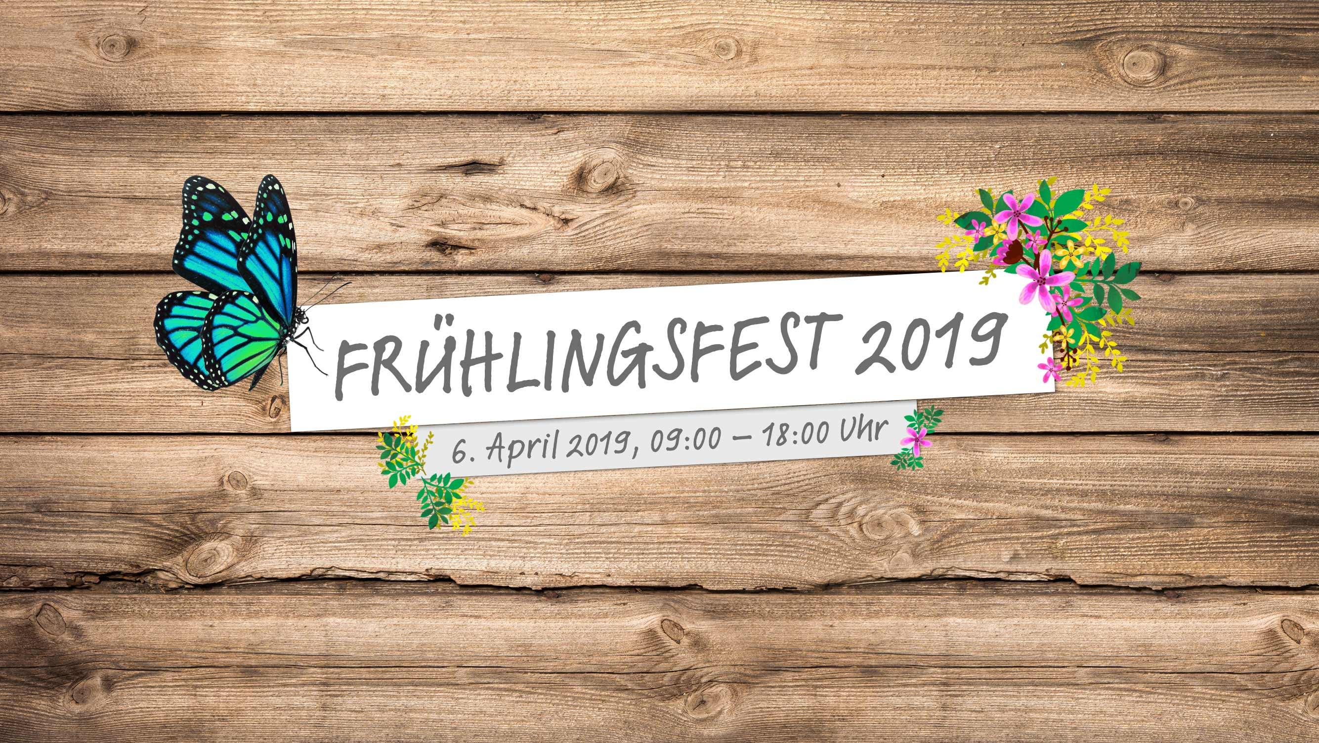 Frühlingsfest am 6. April 2019 bei HolzLand Beese in Unna