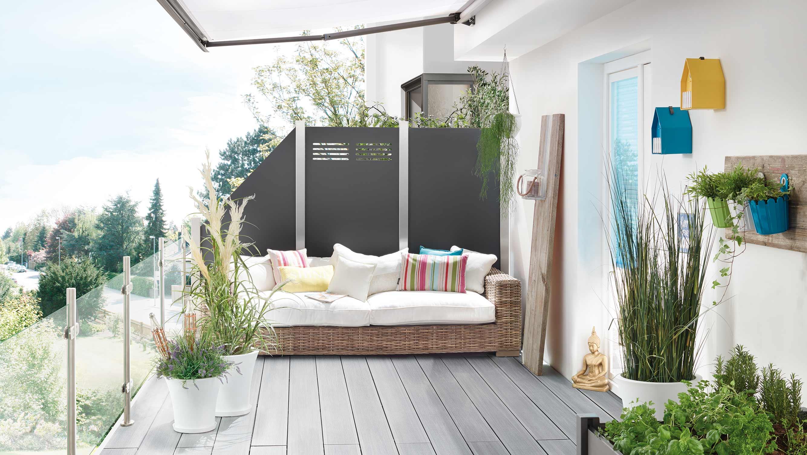 Aufregender Sichtschutz Mit System Holzland Beese Unna