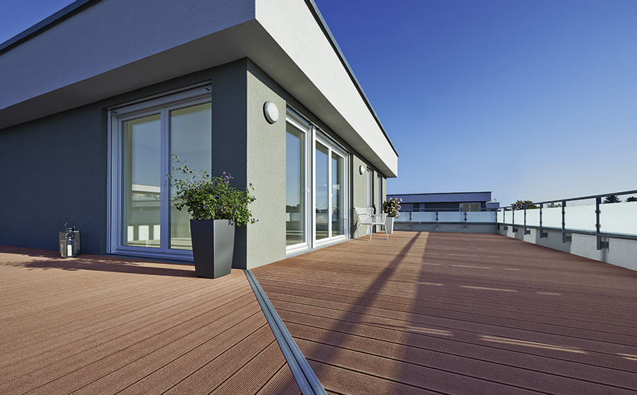 WPC für Deine Dachterrasse bekommst Du ebenfalls bei HolzLand Beese in Unna