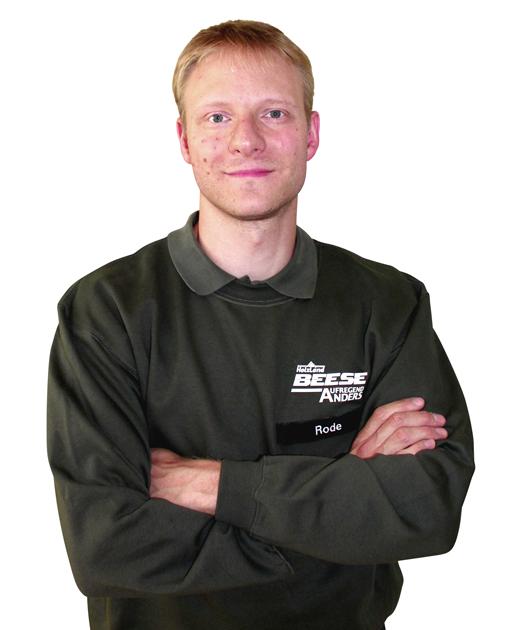 Florian Rode HolzLand Beese Unna Dortmund