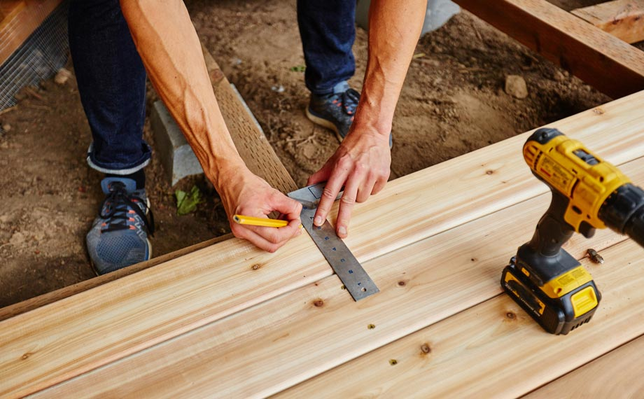 terrassendiele holz unterkonstruktion holzland beese unna - Ratgeber Renovierung: So planst Du Deine neue Holzterrasse [Serie]