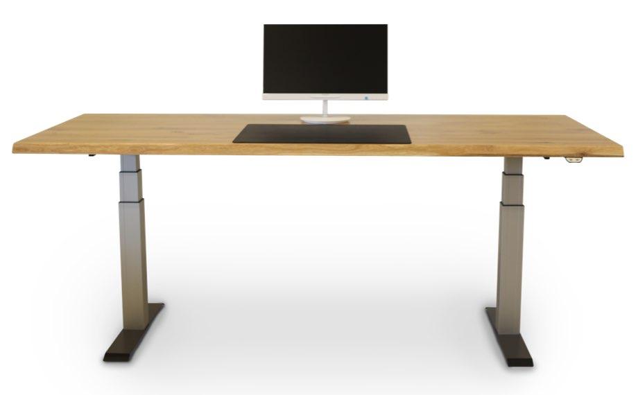 schreibtisch hoehenverstellbar holzland beese unna - Verwandlungskünstler: Ein Holztisch für jeden Raum