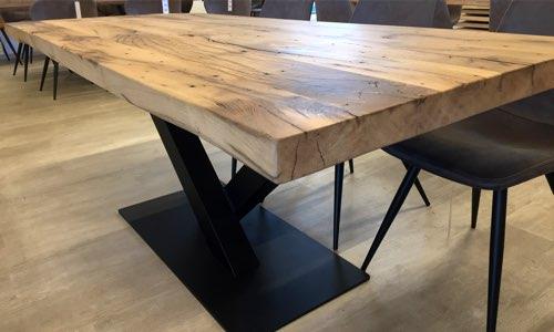 tischgestell holzland beese unna - Verwandlungskünstler: Ein Holztisch für jeden Raum